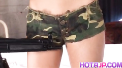Military themed porn, abused hot hostage