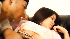 Hungry dude pleasantly fucks teen cutie Japanese chick