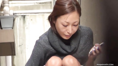 Japanese hot pissing was voyeured on the cam