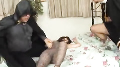 Teen Asian body for two hard dicks' pleasure