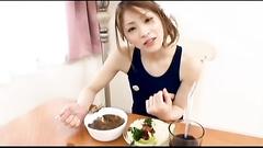 Cute Asian girlfriend pussy and ass masturbation