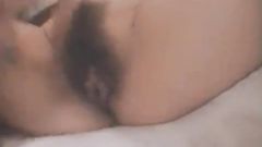 Japanese chick tastily sucks fucker's dick and enjoys asshole lick