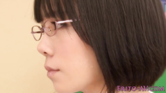 Cute Japanese student chick gets seduced by her classmate