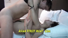 Asian hot girl moans fucked by hard cock in all poses