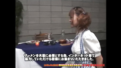 Fucking freaky Japanese whore loves to eat sperm as the all of oriental women
