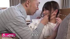 Lustful Japanese wife is having passionate hardcore fuck with neighbor